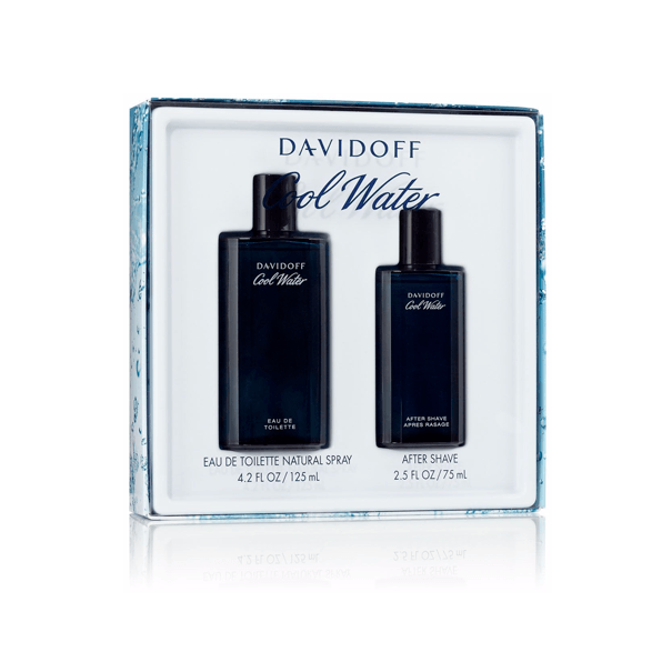 Cool Water Eau De Toilette Spray for Men Gift Set - AromaFi.com
