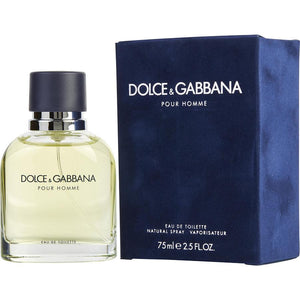 D & G Pour Homme Eau De Toilette Spray for Men - AromaFi.com