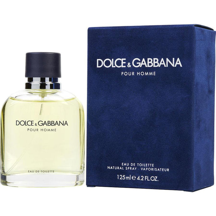 D & G Pour Homme Eau De Toilette Spray for Men - AromaFi