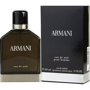 Armani Eau De Nuit Eau De Toilette Spray for Men - Le Boutique Parfum