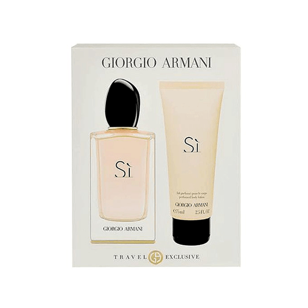 Si Eau De Parfum Spray for Women Gift Set