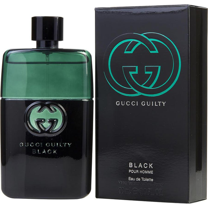 Gucci Guilty Black Eau De Toilette Spray for Men - AromaFi.com