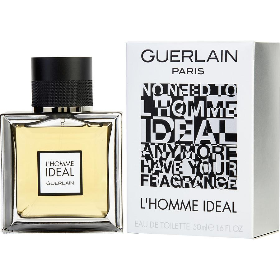 Guerlain L'Homme Ideal Eau De Toilette Spray for Men - AromaFi.com