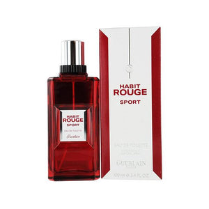 Habit Rouge Sport Eau De Toilette Spray for Men - AromaFi.com