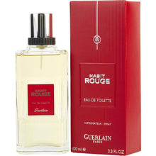 Load image into Gallery viewer, Habit Rouge Eau De Toilette Spray for Men - AromaFi.com