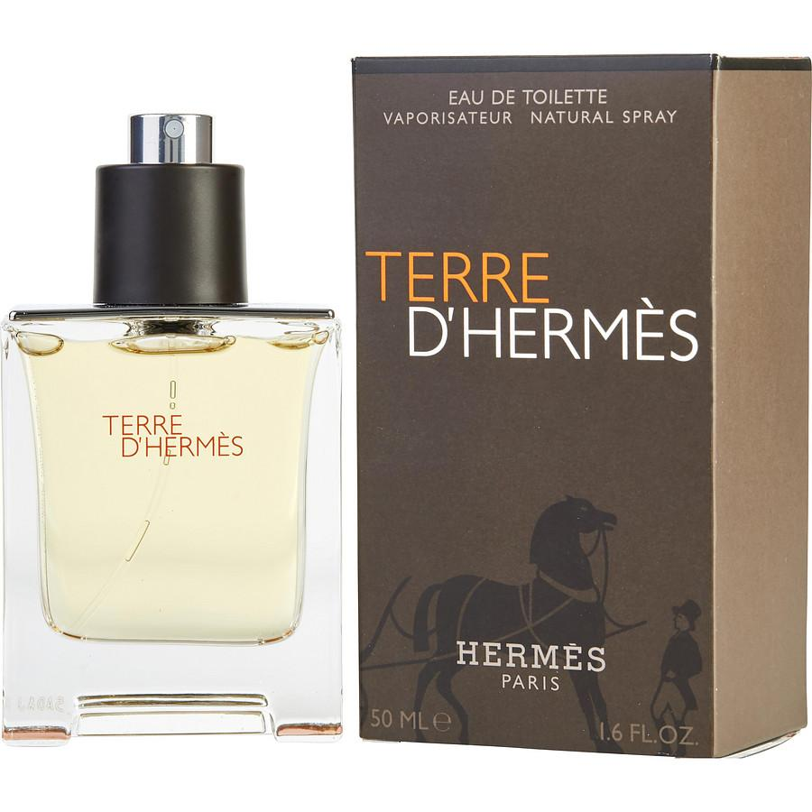 Terre D'Hermes Eau De Toilette Spray for Men