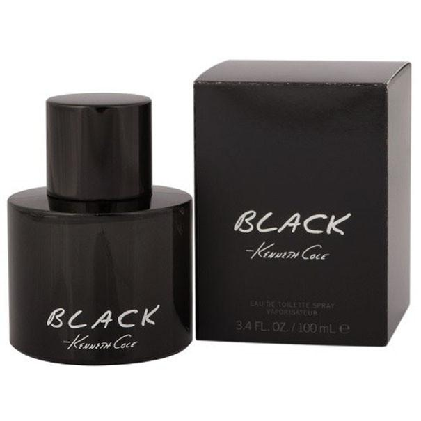 Kenneth Cole Black Eau De Toilette Spray for Men - AromaFi.com