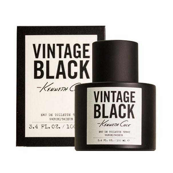 Kenneth Cole Vintage Black Eau De Toilette Spray for Men - AromaFi.com