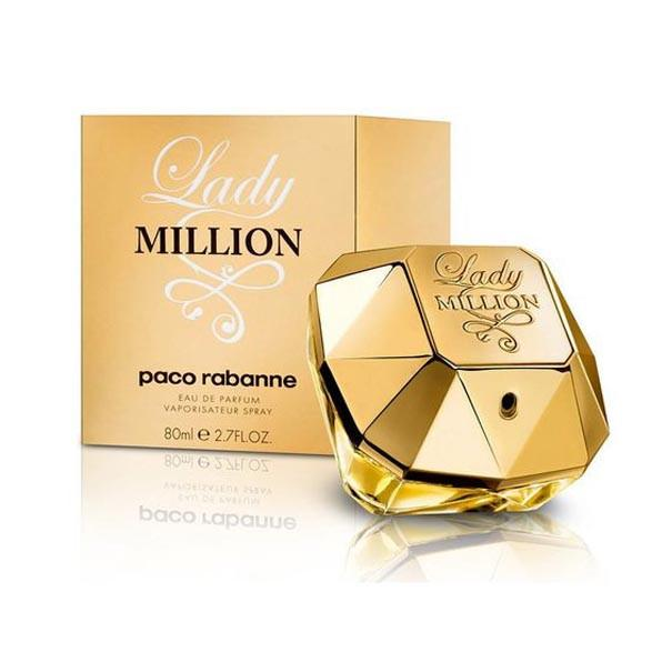 Lady Million Eau De Parfum Spray for Women - AromaFi.com