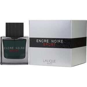 Lalique Encre Noire Sport Eau De Toilette Spray for Men - AromaFi.com