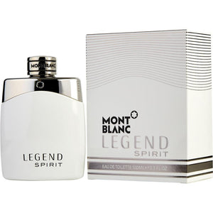 Mont Blanc Legend Spirit Eau De Toilette Spray for Men - AromaFi.com