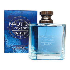 Nautica Voyage N-83 Eau De Toilette Spray for Men - AromaFi.com