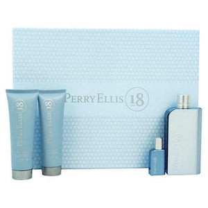 Perry Ellis 18 Eau De Toilette Spray for Men Gift Set - AromaFi.com