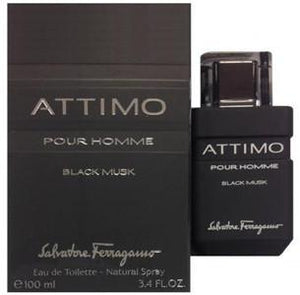 Attimo Pour Homme Black Musk Eau De Toilette Spray for Men - Le Boutique Parfum