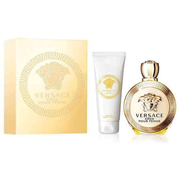 Versace Eros Pour Femme Eau De Parfum Spray for Women Gift Set