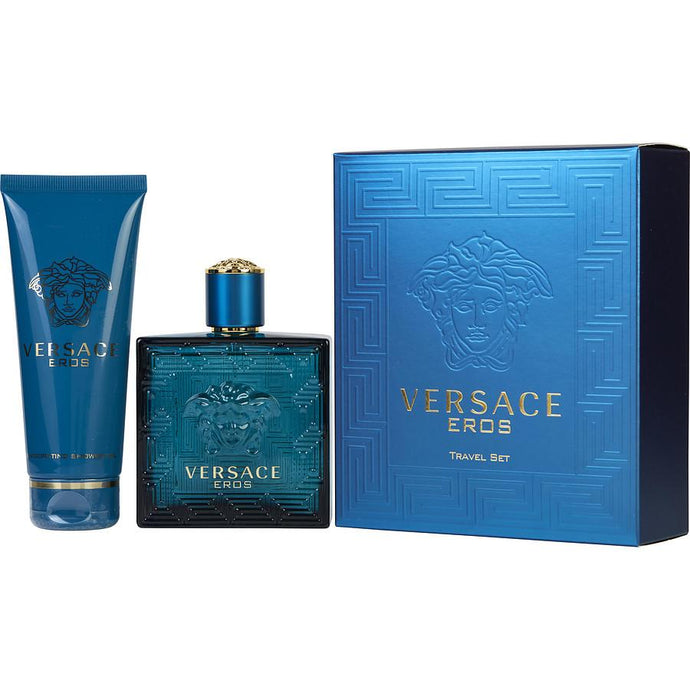 Eros Eau De Toilette Spray for Men Gift Set - AromaFi.com