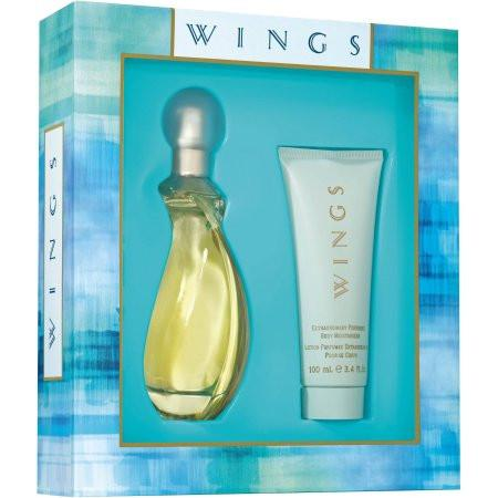 Wings Eau De Toilette Spray Gift Set