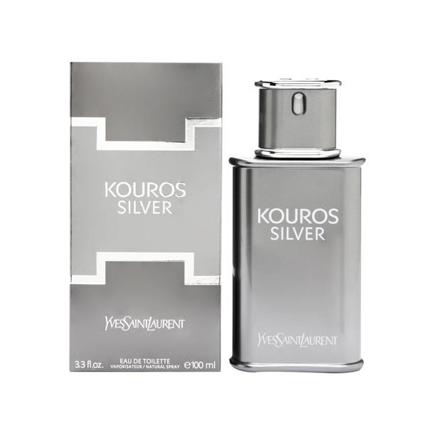 Kouros Silver Eau De Toilette Spray for Men - AromaFi.com