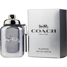 Load image into Gallery viewer, Coach Platinum Eau De Parfum Spray for Men - AromaFi.com