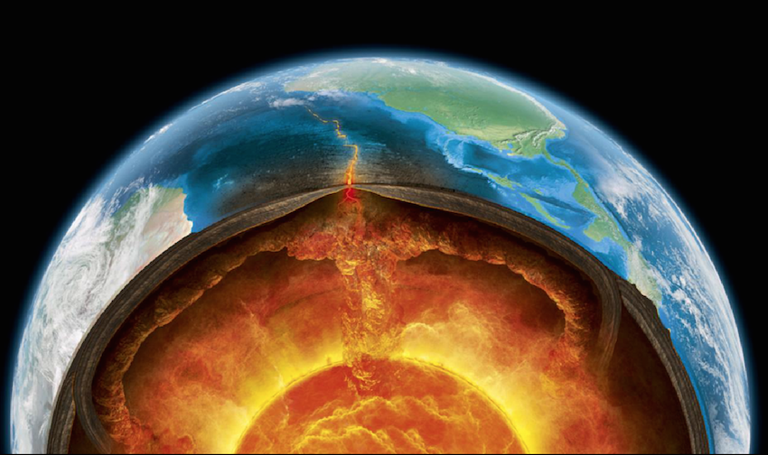 Are there 'oceans' hiding inside the Earth?