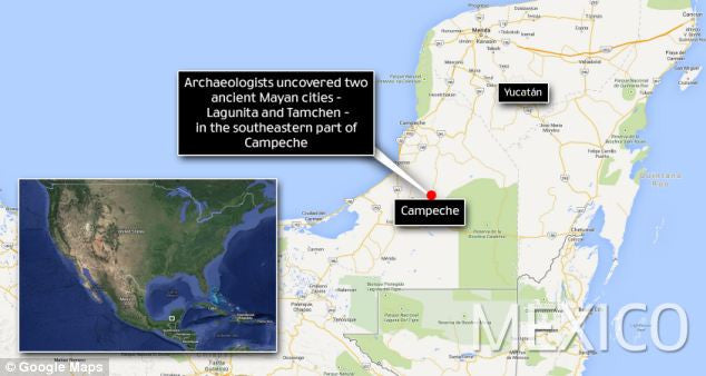 Lost Mayan cities discovered in Mexican jungle