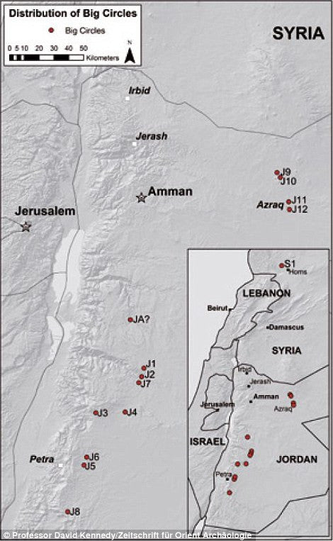 THE MYSTERIOUS BIG CIRCLES OF JORDAN AND SYRIA