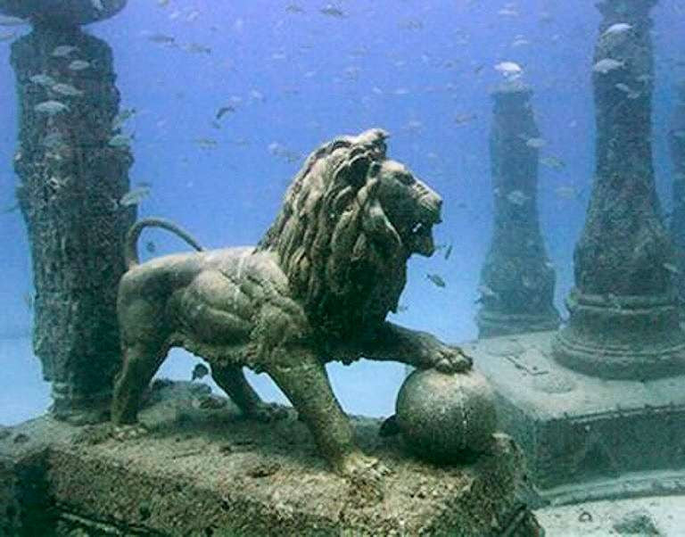 Ancient Egyptian Sunken City Revealed Ancient Explorers - Explorers discover ancient 1200 year old egyptian city