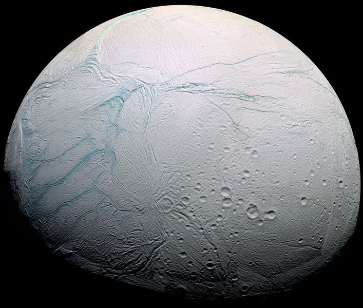 Possible Life on Saturn's Moon
