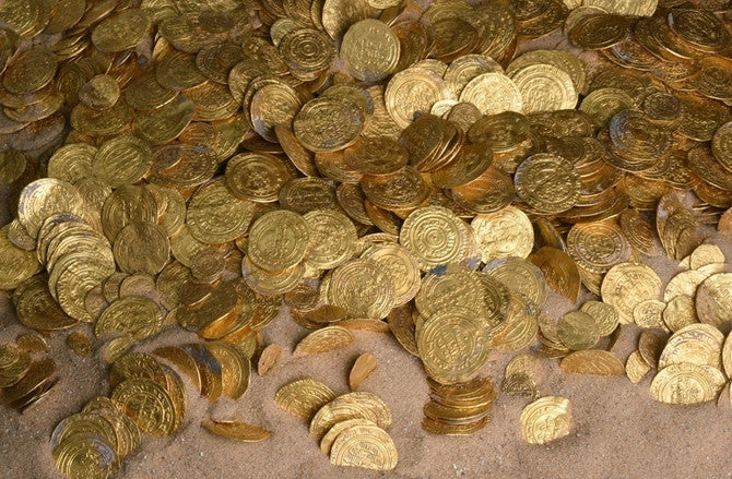Thousands Of Gold Coins Discovered In Israel!