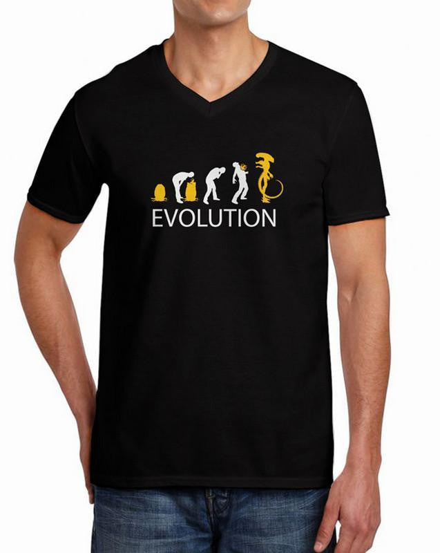 Alien Evolution T-Shirt - Ancient Explorers