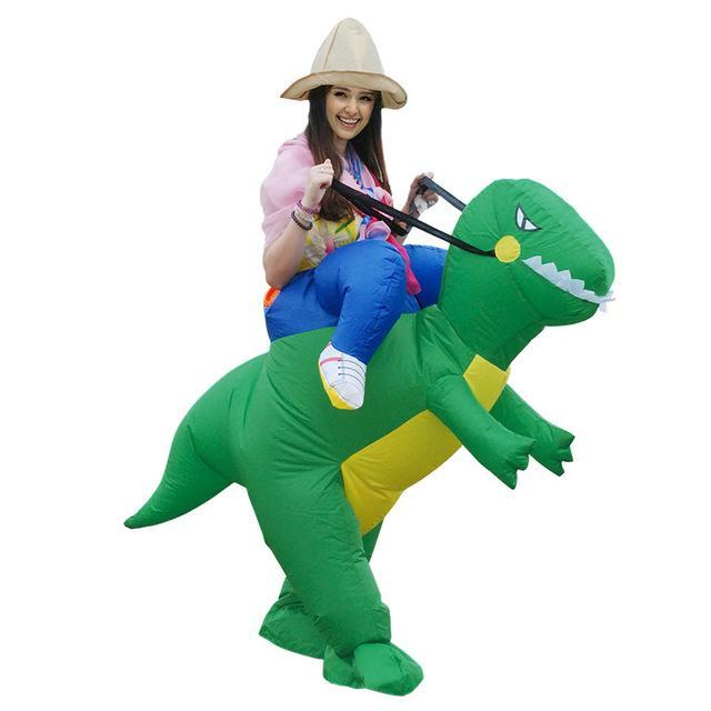 ... Funny Inflatable Costumes Green Dinosaur Costume ...  sc 1 st  Ancient Explorers : funny dinosaur costume  - Germanpascual.Com