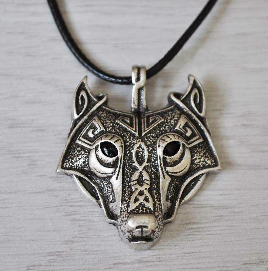 Norse viking wolf pendant necklace ancient explorers norse viking wolf pendant necklace necklaces aloadofball Images
