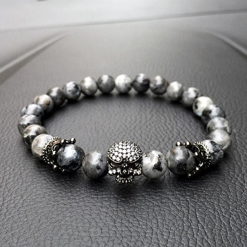 pet rivet womens tiger bead women bracelet wrap shar bracelets double eye female pei beaded chain cute stone edition yuxi dog charm crown products natural limited s
