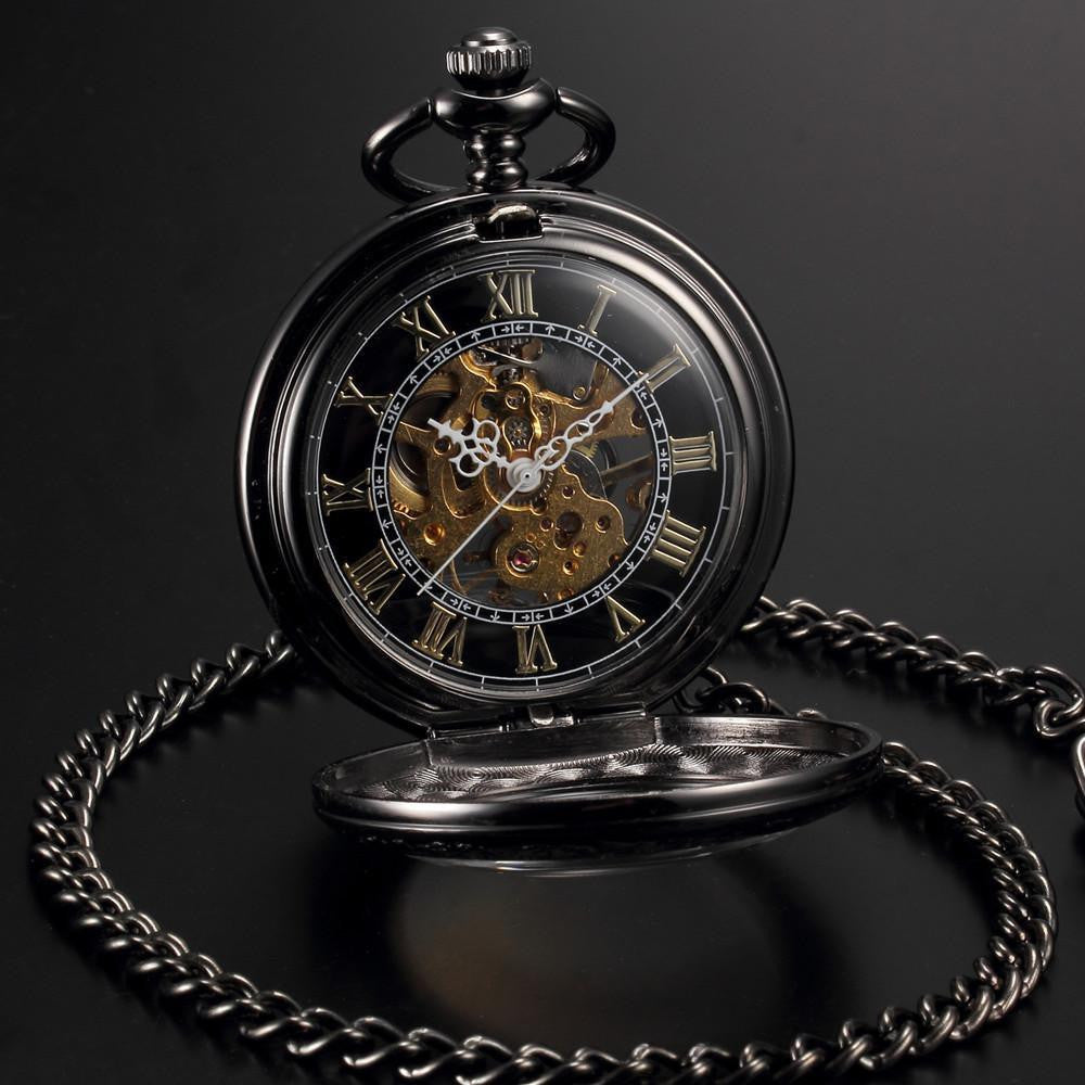 steampunk skeleton mechanical pocket watch ancient explorers