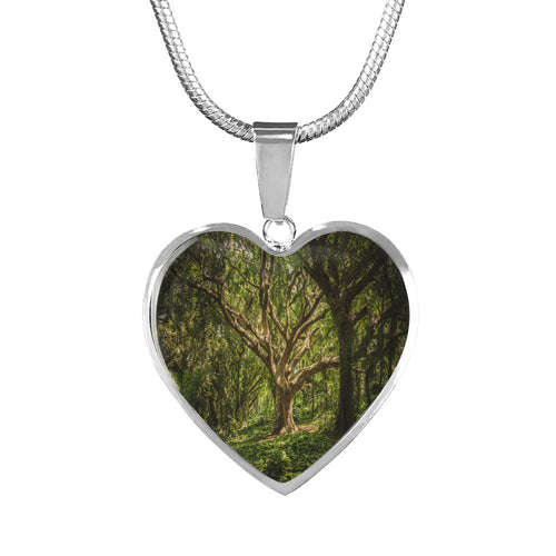 Tree Love Necklace - Blue Frog Treasures