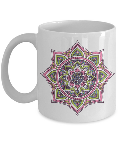 Mandala Mug - Blue Frog Treasures