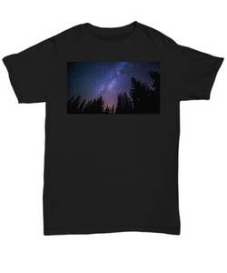 Star Trees T Shirt - Blue Frog Treasures