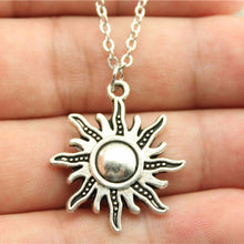 Load image into Gallery viewer, Sun Pendant Necklace - Blue Frog Treasures