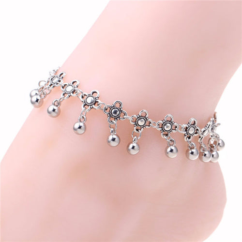 4 Directions Anklet - Blue Frog Treasures