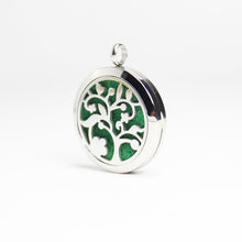 Load image into Gallery viewer, Tree of Life IV Essential Oil Diffuser Locket - Blue Frog Treasures