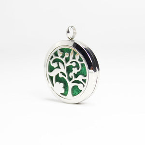 Tree of Life IV Essential Oil Diffuser Locket - Blue Frog Treasures
