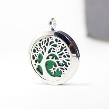 Load image into Gallery viewer, Tree of Life V Essential Oil Diffuser Locket - Blue Frog Treasures