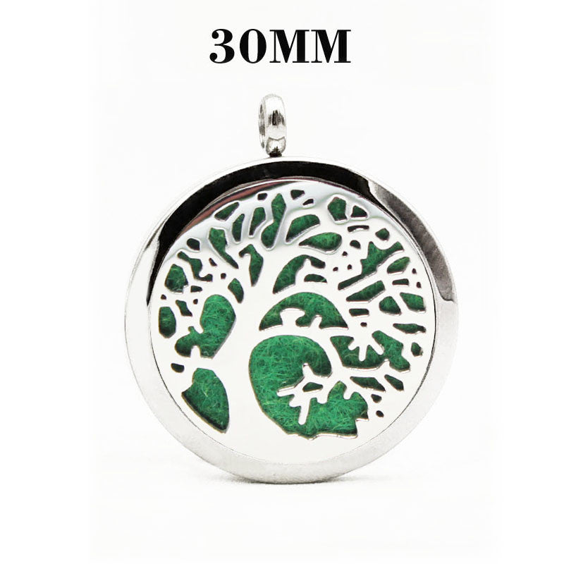 Tree of Life V Essential Oil Diffuser Locket - Blue Frog Treasures