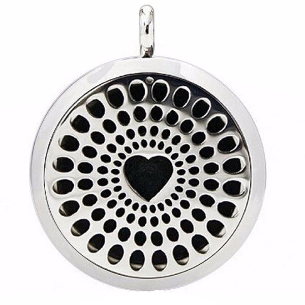 Heart Chakra Essential Oil Diffuser Locket - Blue Frog Treasures