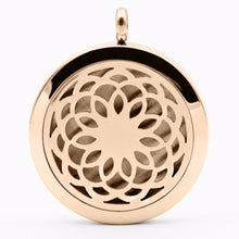 Load image into Gallery viewer, Lotus Flower Essential Oil Diffuser Locket - Blue Frog Treasures