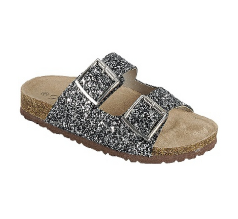 Glitter Slide Sandals - The Mimi Boutique