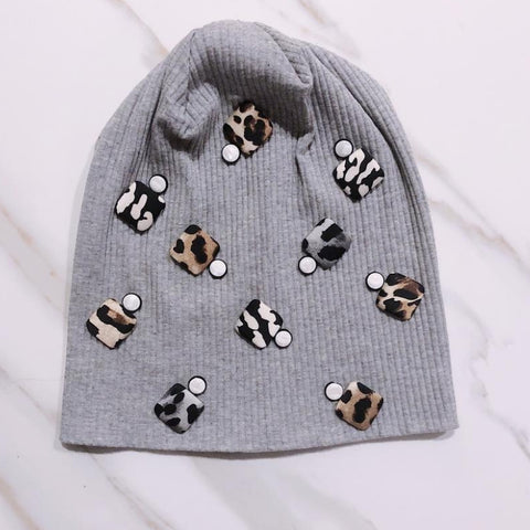 Jolie Cotton Beanie by Valeri - The Mimi Boutique