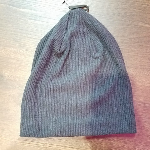 Ribbed Solid Beanie - The Mimi Boutique