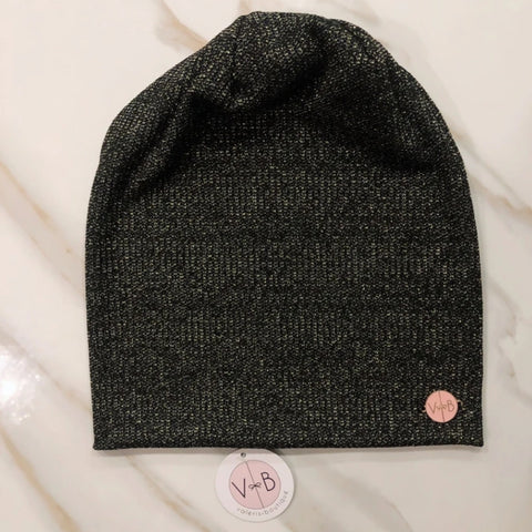 Carmela Ribbed Metallic Beanies (3 Colors) - The Mimi Boutique