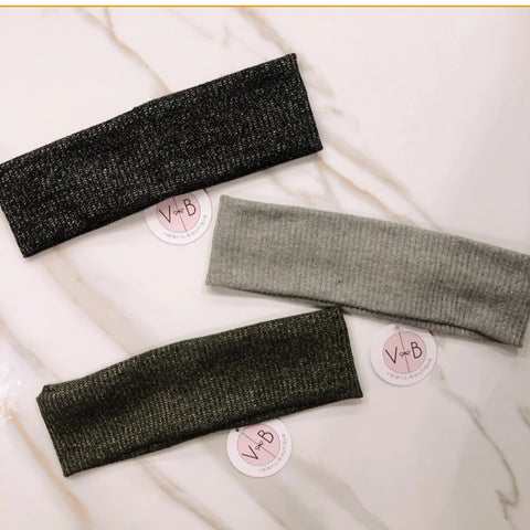 Carmela Shimmer Headbands - The Mimi Boutique